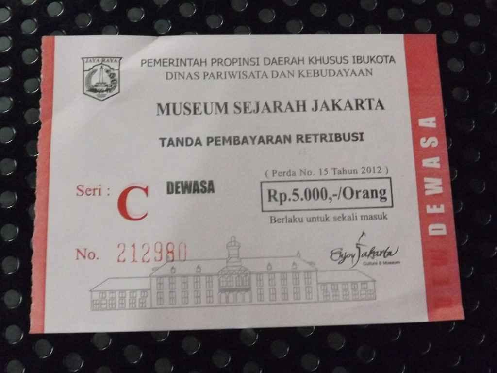 tiket masuk museum fatahillah